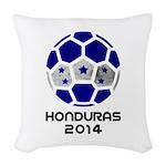Honduras World Cup 2014 Woven Throw Pillow