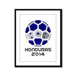 Honduras World Cup 2014 Framed Panel Print
