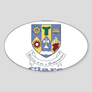 County Clare COA Sticker