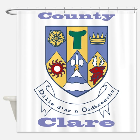 County Clare COA Shower Curtain