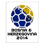 Bosnia-Herzegovina World Cup 2014 Small Poster