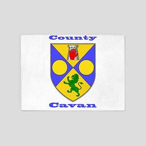 County Cavan COA 5'x7'Area Rug