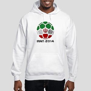 Iran World Cup 2014 Hooded Sweatshirt