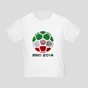 Iran World Cup 2014 Toddler T-Shirt