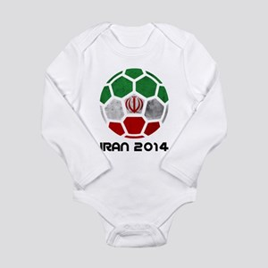 Iran World Cup 2014 Long Sleeve Infant Bodysuit