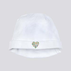 Iran World Cup 2014 Heart baby hat