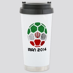 Iran World Cup 2014 Stainless Steel Travel Mug