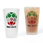 Iran World Cup 2014 Drinking Glass