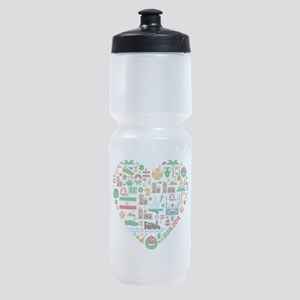 Iran World Cup 2014 Heart Sports Bottle