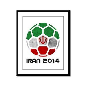 Iran World Cup 2014 Framed Panel Print