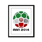Iran World Cup 2014 Framed Panel Print