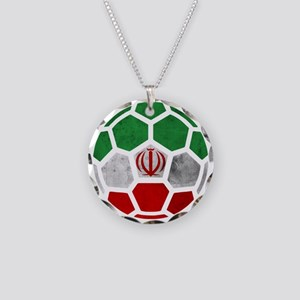 Iran World Cup 2014 Necklace Circle Charm