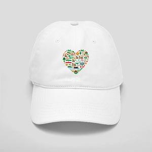 Iran World Cup 2014 Heart Cap