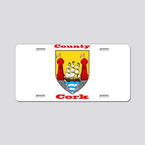 County Cork COA Aluminum License Plate
