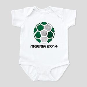 Nigeria World Cup 2014 Infant Bodysuit