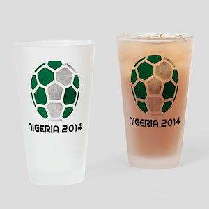 Nigeria World Cup 2014 Drinking Glass