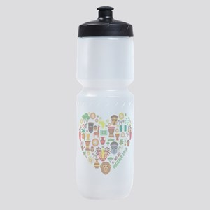 Nigeria World Cup 2014 Heart Sports Bottle