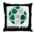 Nigeria World Cup 2014 Throw Pillow
