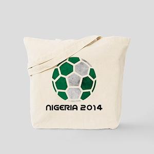 Nigeria World Cup 2014 Tote Bag