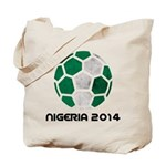 Nigeria World Cup 2014 Tote Bag