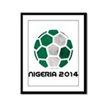 Nigeria World Cup 2014 Framed Panel Print