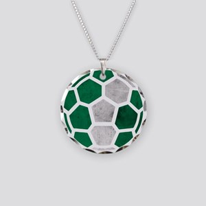 Nigeria World Cup 2014 Necklace Circle Charm