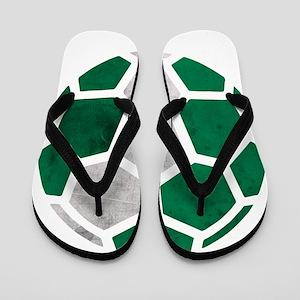 Nigeria World Cup 2014 Flip Flops