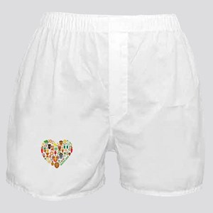 Nigeria World Cup 2014 Heart Boxer Shorts