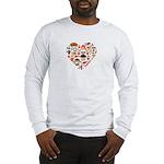 Germany World Cup 2014 Heart Long Sleeve T-Shirt