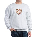 Germany World Cup 2014 Heart Sweatshirt
