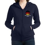 Germany World Cup 2014 Women's Zip Hoodie