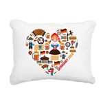 Germany World Cup 2014 H Rectangular Canvas Pillow