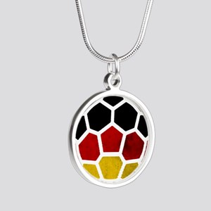 Germany World Cup 2014 Silver Round Necklace