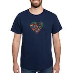 Portugal World Cup 2014 Heart Dark T-Shirt