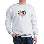 Portugal World Cup 2014 Heart Sweatshirt
