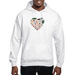 Portugal World Cup 2014 Heart Hooded Sweatshirt