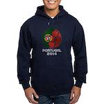 Portugal World Cup 2014 Hoodie (dark)