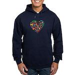 Portugal World Cup 2014 Heart Hoodie (dark)