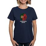 Portugal World Cup 2014 Women's Dark T-Shirt