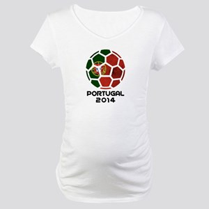 Portugal World Cup 2014 Maternity T-Shirt