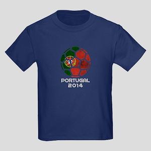 Portugal World Cup 2014 Kids Dark T-Shirt