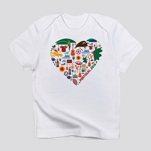 Portugal World Cup 2014 Heart Infant T-Shirt