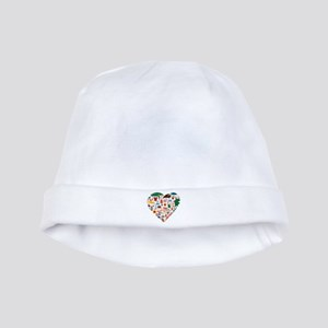 Portugal World Cup 2014 Heart baby hat