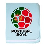 Portugal World Cup 2014 baby blanket