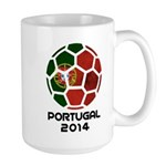 Portugal World Cup 2014 Large Mug