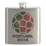 Portugal World Cup 2014 Flask
