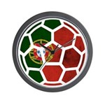 Portugal World Cup 2014 Wall Clock