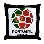 Portugal World Cup 2014 Throw Pillow