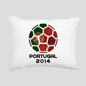 Portugal World Cup 2014 Rectangular Canvas Pillow