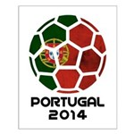 Portugal World Cup 2014 Small Poster